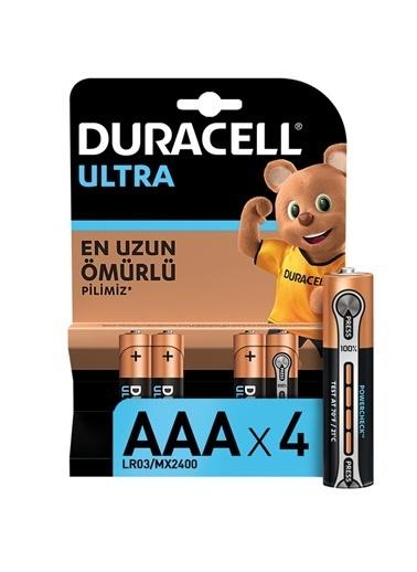 Duracell Duracell Dayanıklı 4'Lü Ultra Alkalin Aaa Ince Kalem Pill Renkli